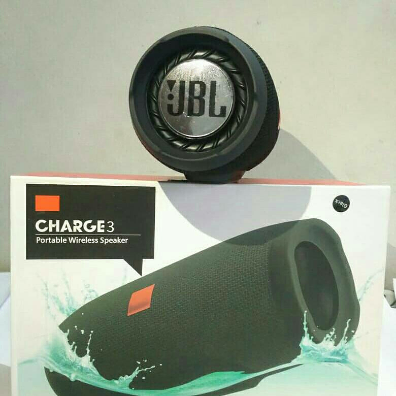 JBL CHARGE 3 BLUETOOTH SPEAKER SEAL PACKED FIRST COPY from