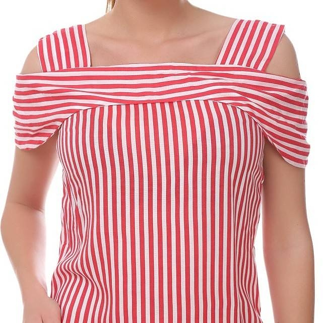 new high quality save up to 80% where to buy Womens white and red striped top