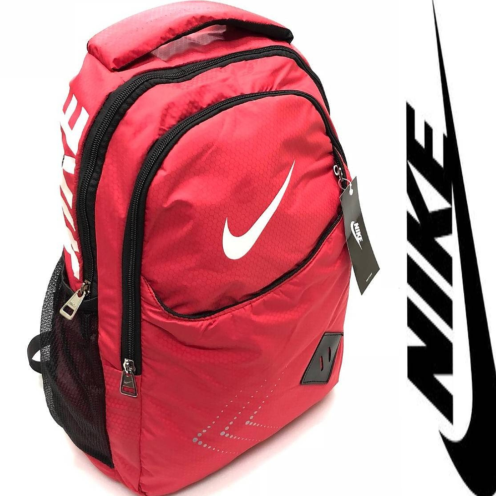 Red Nike Backpack Swiss Paralympic