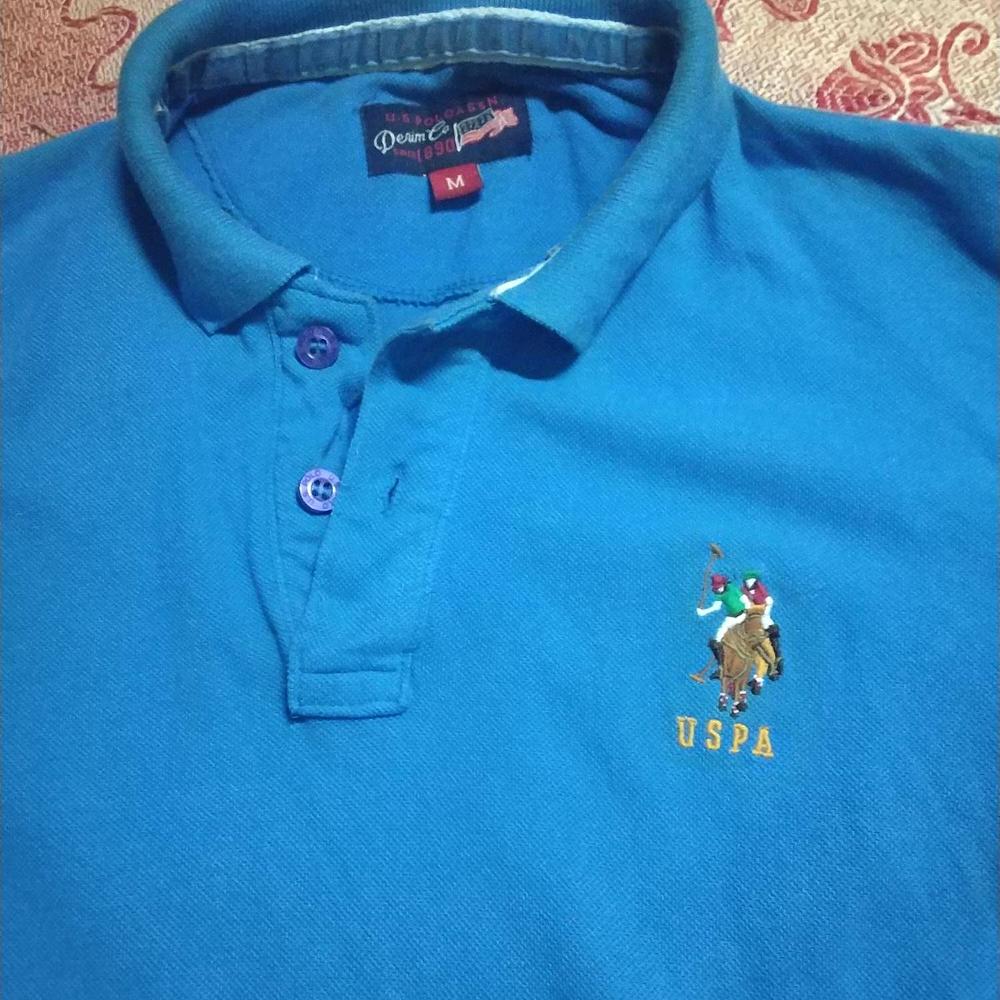 Blue Polo Shirt Blue Lauren Lauren Ralph Ralph TKJulc35F1